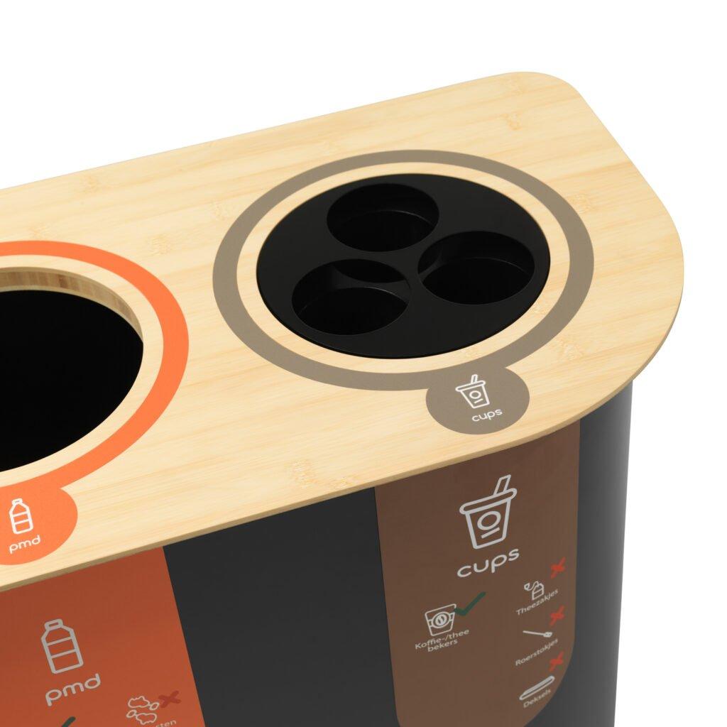 afvalbak-voor-plastic-bekers-drie-kokers