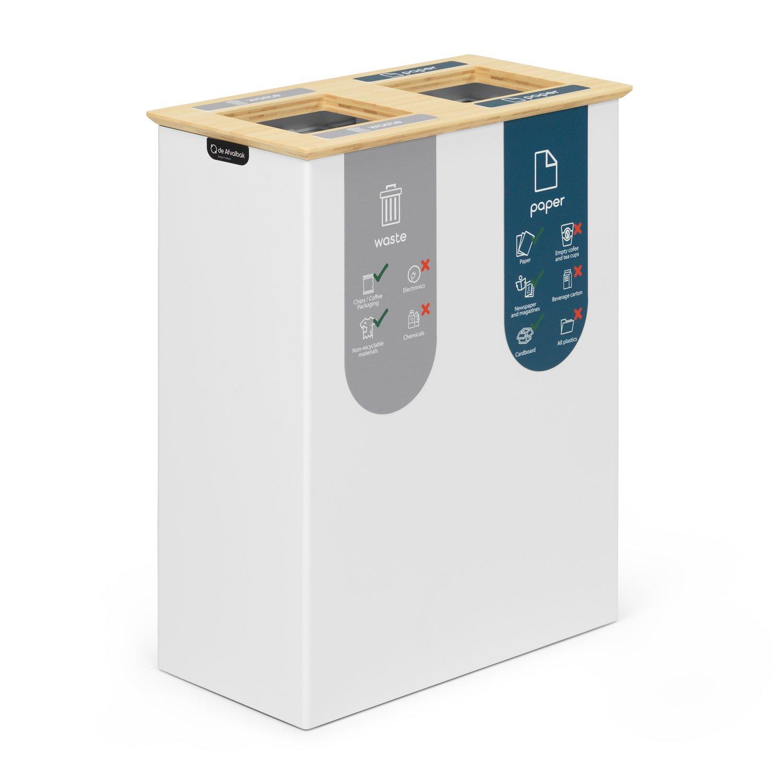 duo-prullenbak-40-liter-afvalscheiden-magneetsigning-zijkant